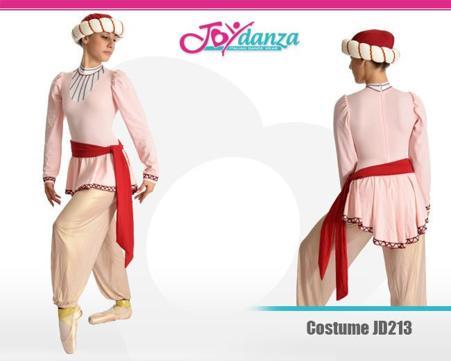 Costume dal carattere arabo, utilizzato in diversi balletti di repertorio e per favole come Aladin o il Principe di Persia.