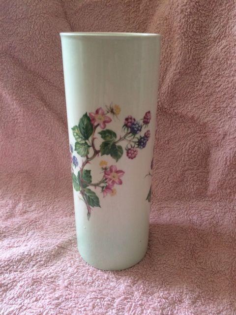 Royal Worcester Spode Palissy Vintage Blackberry Design Vase Ebay
