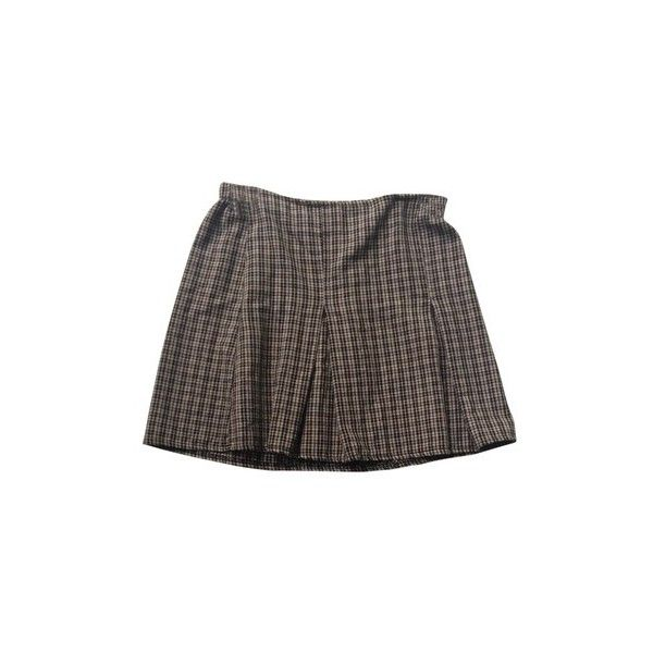 Brandy Melville Brandy Finder Skirt (430 ARS) ❤ liked on Polyvore featuring skirts, bottoms, brown skirt, brandy melville skirt and brandy melville