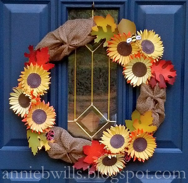 Lab Hands Early Autumn Wreath Autumn Wreaths Wreaths How To Make Wreaths