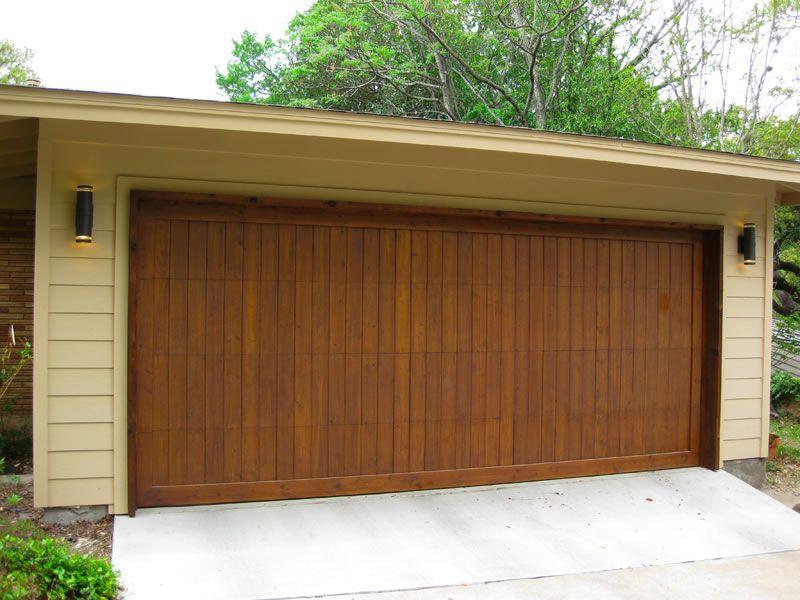 Contemporary Wood Garage Doors Wooden Garage Doors Custom Wood Garage Doors Wood Garage Doors