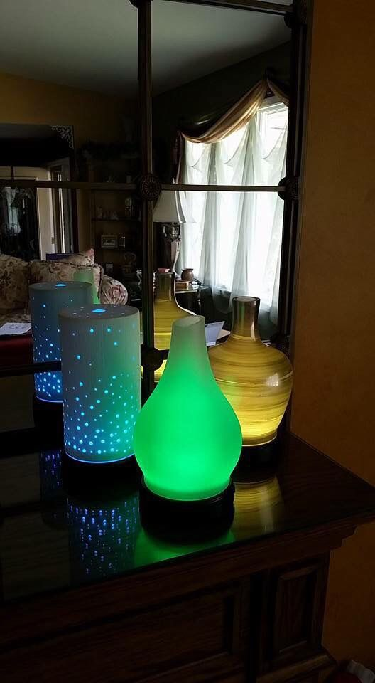New Scentsy Diffusers