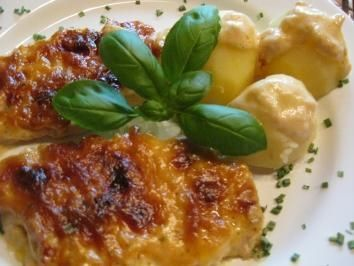 Photo of Delicious meat (baked schnitzel) – quick and tasty …
