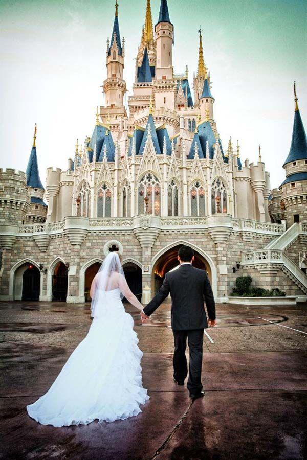 Disney Wedding Photos In The Magic Kingdom Kristy Aman