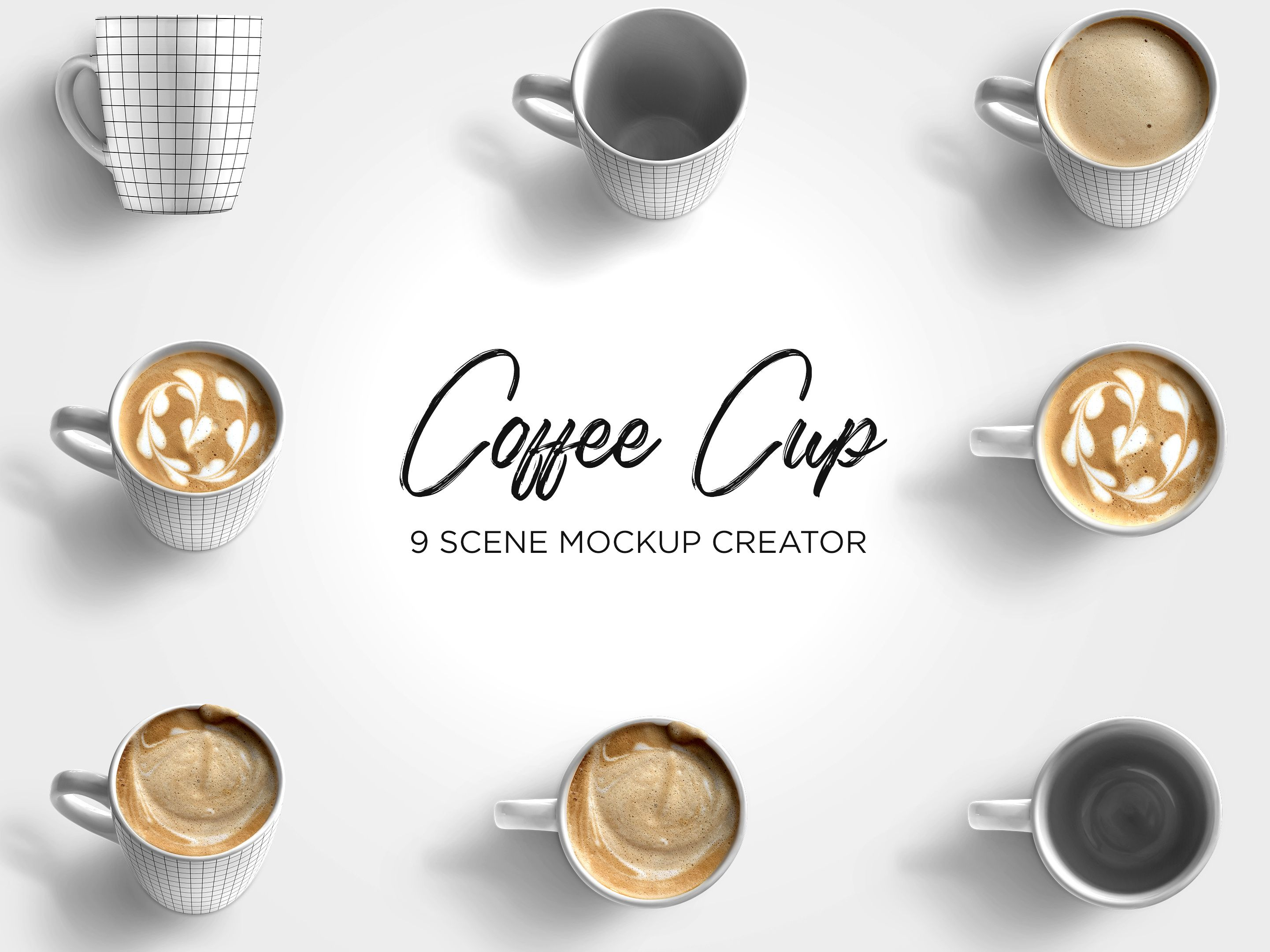 Coffee Cup Mockup Bundle Mockup, Coffee cups, Mockup creator
