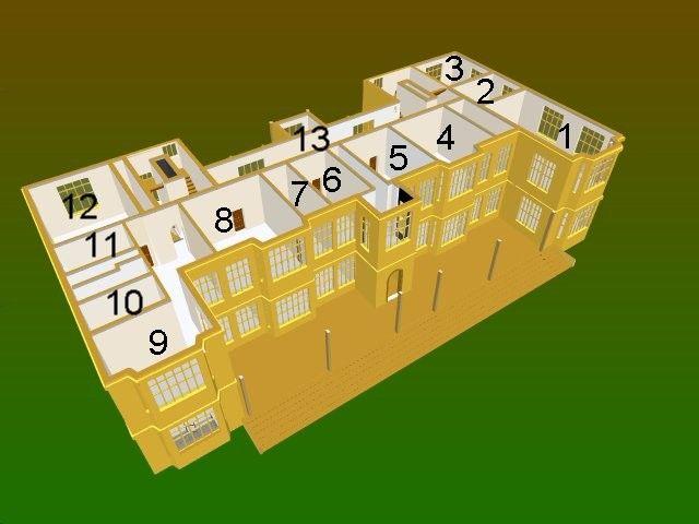 Montacute House Flooring House Floor Plans Brown Rooms