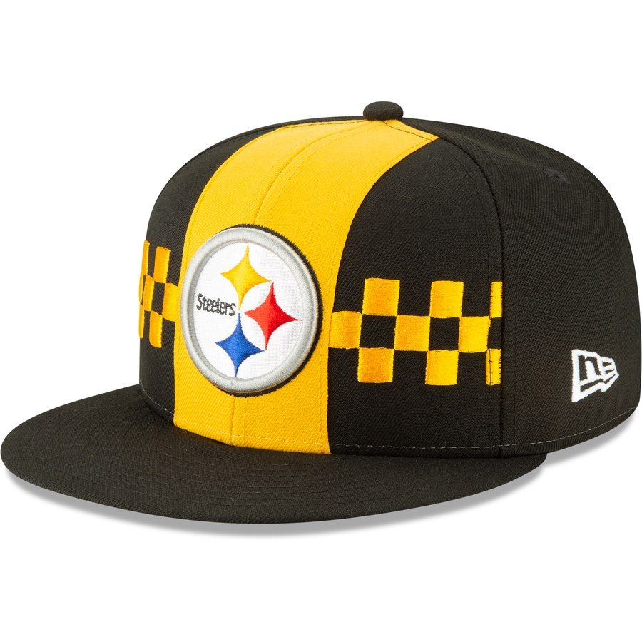 cheaper f7627 61e84 Pittsburgh Steelers New Era 2019 NFL Draft On-Stage Official 59FIFTY Fitted  Hat – Black, Your Price   37.99