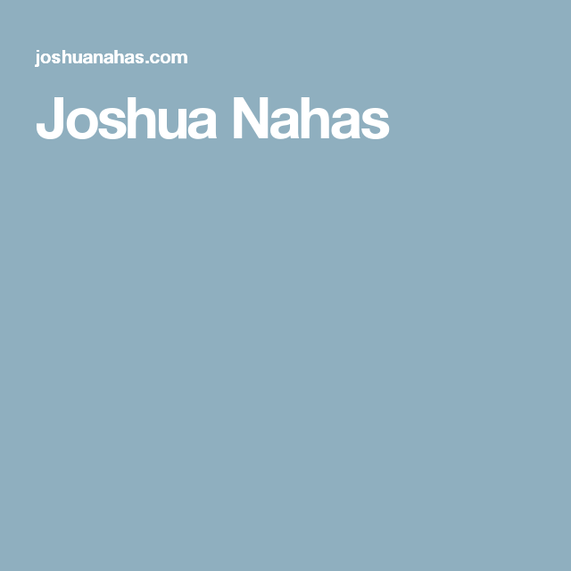 Joshua Nahas