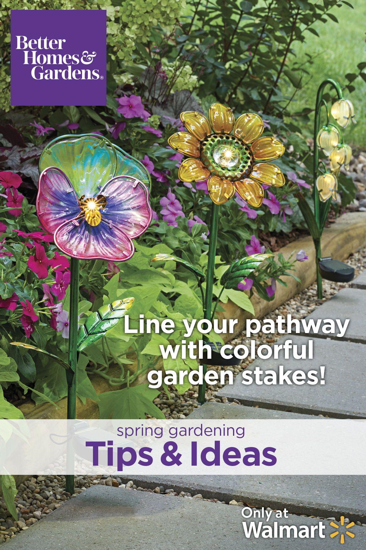 Better Homes And Gardens Flower Solar Lights