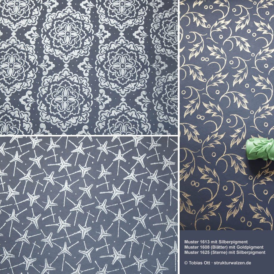 Patterned Paint Rollers | Pattern Design Paint Roller Pictures ...