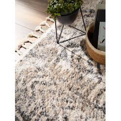 Photo of benuta Trends Kurzflor Teppich Bela Anthrazit/Beige 80×150 cm – Moderner Teppich für Wohnzimmerbenut