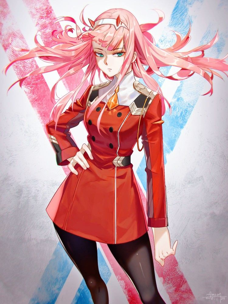 Zero Two Darling In The Franxx Gg Anime Darling In The