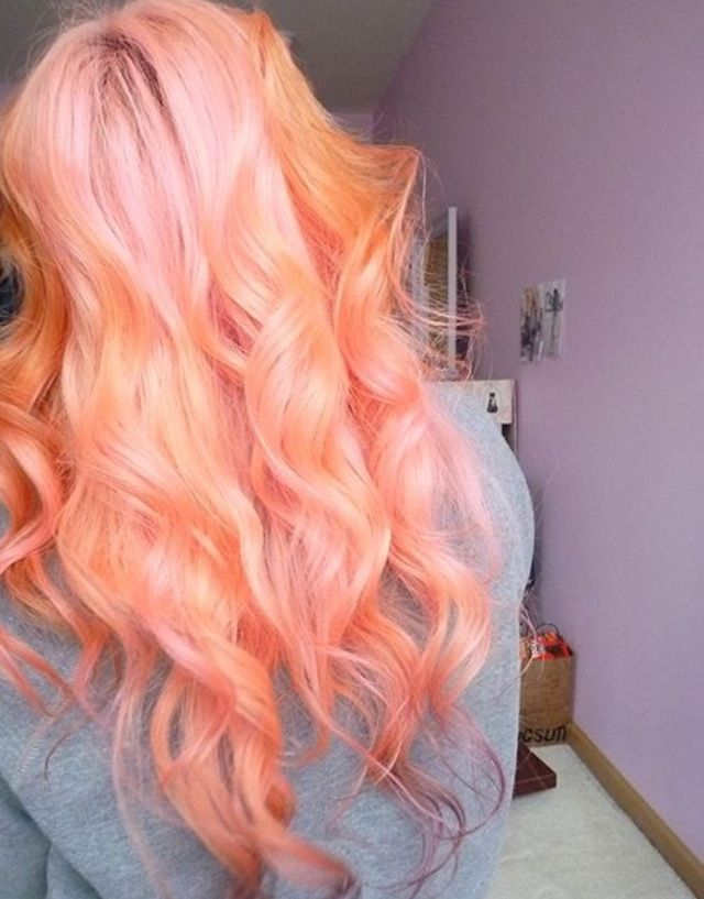 in love with this hair color