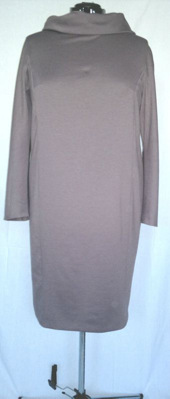robe jersey taupe 11