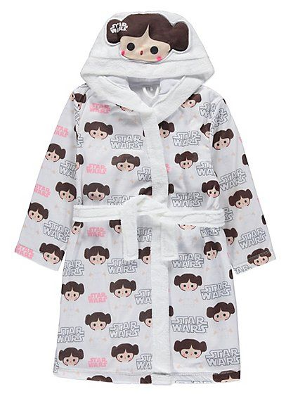 Star Wars Princess Leia Dressing Gown, read reviews and buy online ...