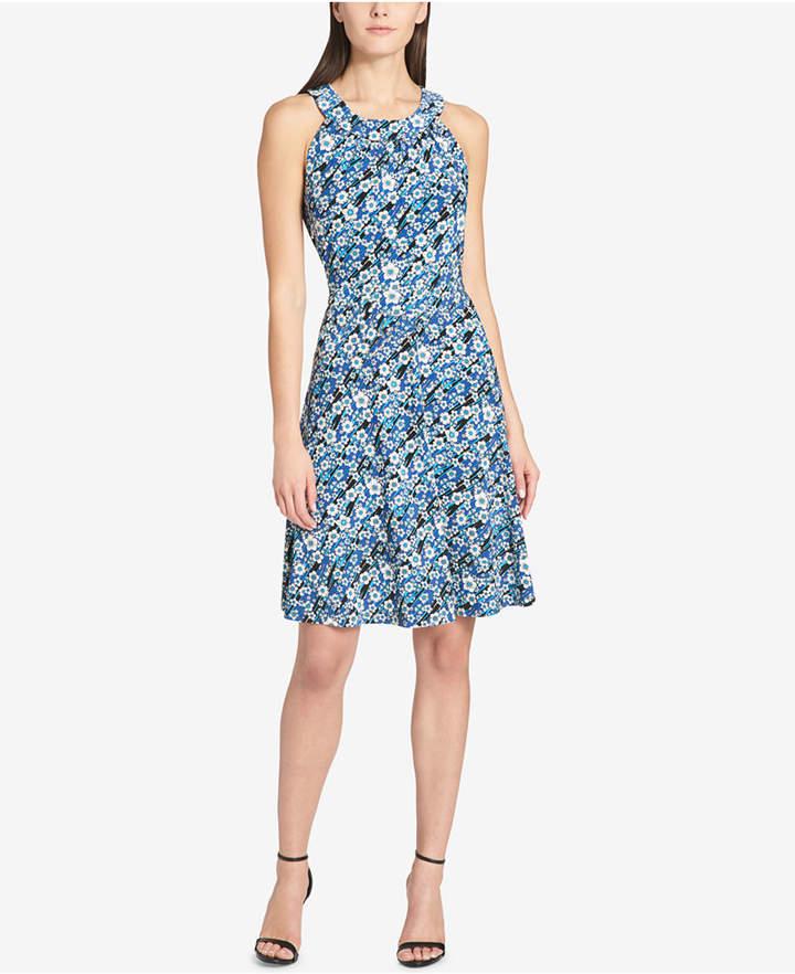 d012ecd6803 Tommy Hilfiger Ripple Floral-Print Fit & Flare Dress | Products ...