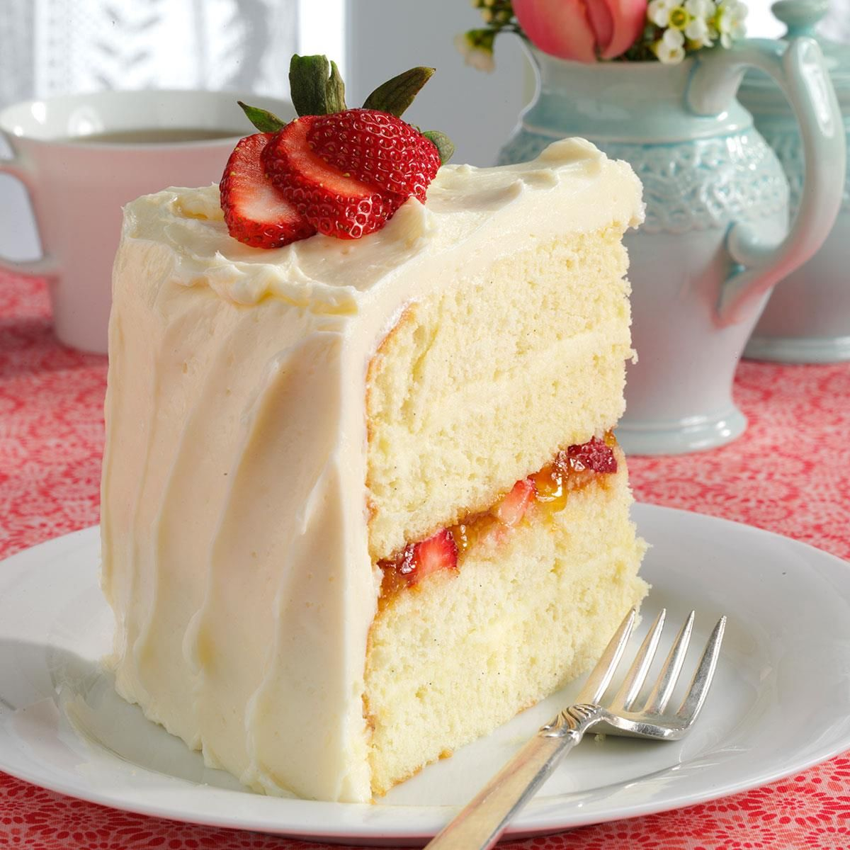 Vanilla Bean Cake with White Chocolate Ganache   Recipe   Vanilla ...