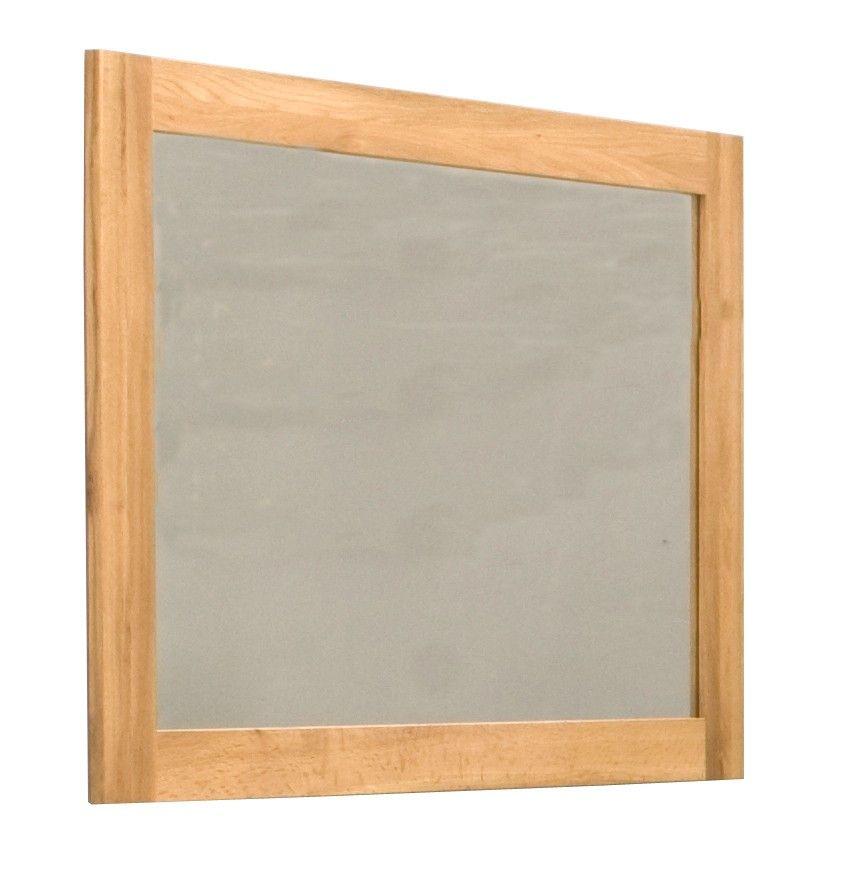 Mobel Oak Medium Wall Mirror Black Wall Mirror Light Oak