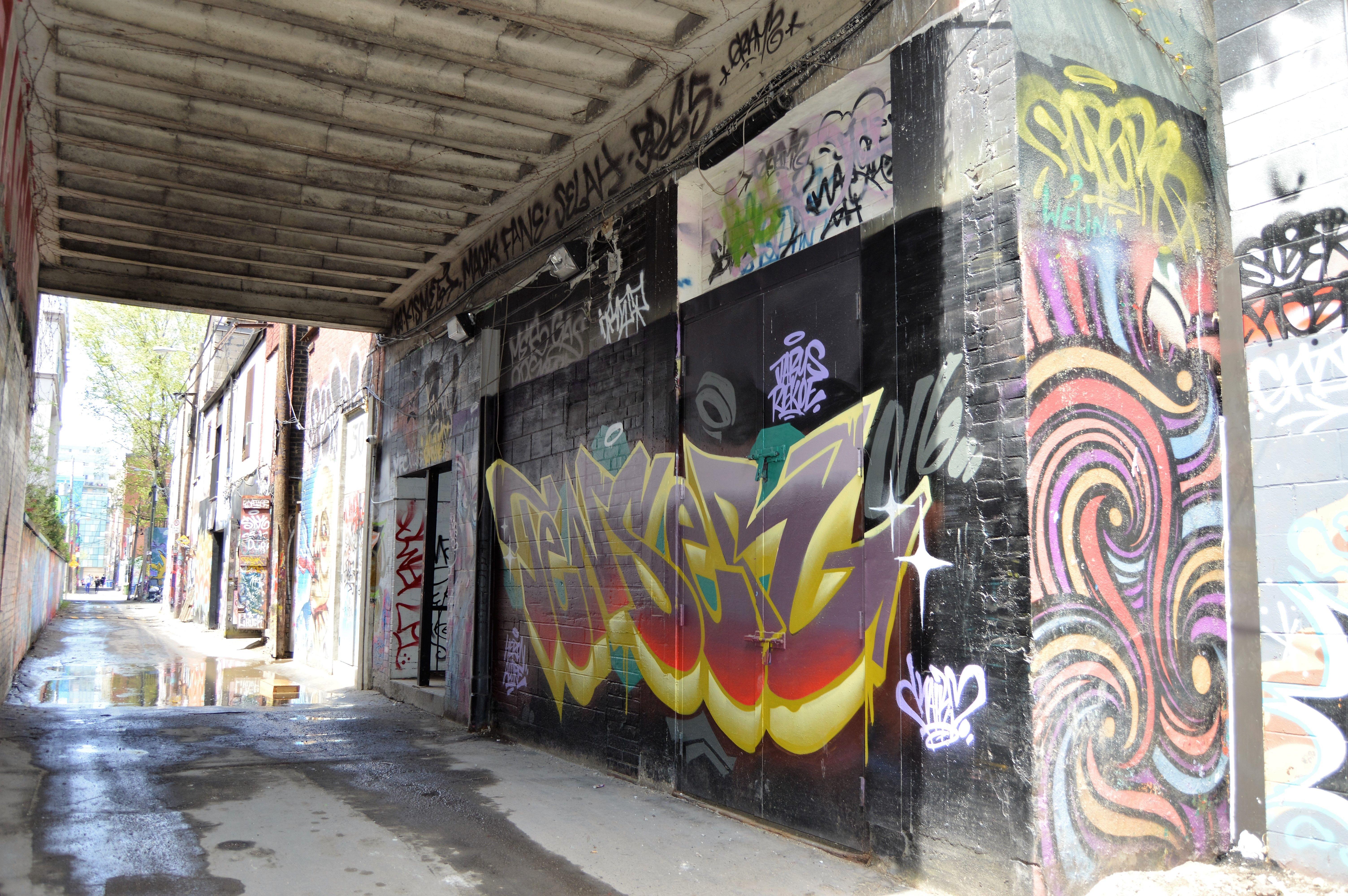 graffiti artists for hire toronto