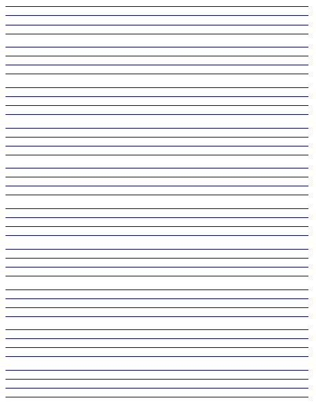 Awesome Printable Penmanship Paper  Handwriting Paper Printable Free