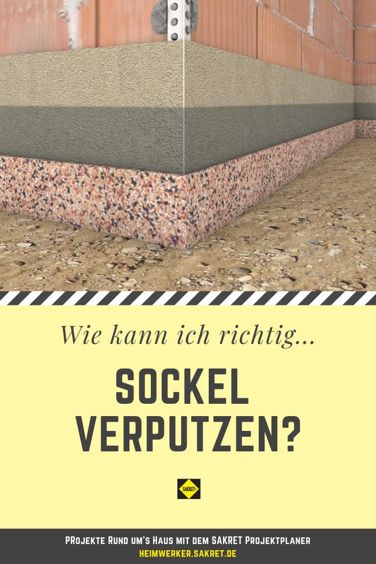 Sockel Verputzen Sockel Verputzen Verputzen Fassade Verputzen
