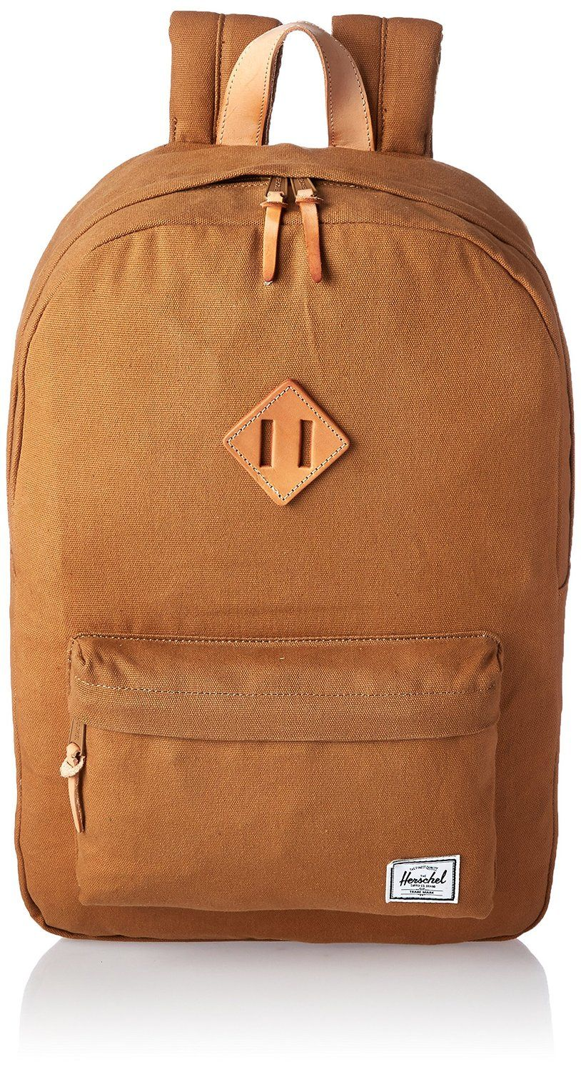 90413176b38 Amazon.com  Herschel Supply Co. Heritage Select Backpack, Caramel, One Size   Clothing