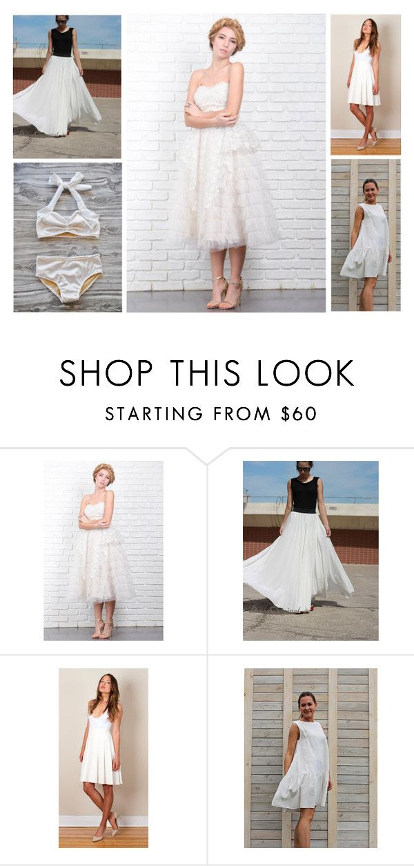 """Summertime Whites"" by etsy ❤ liked on Polyvore featuring Retrò, women's clothing, women, female, woman, misses and juniors"