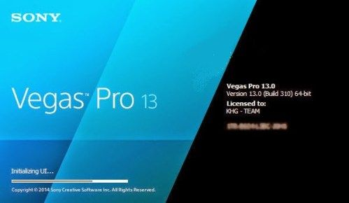 Sony Vegas Pro 13 Serial Number and Activation Code 2016 Crack