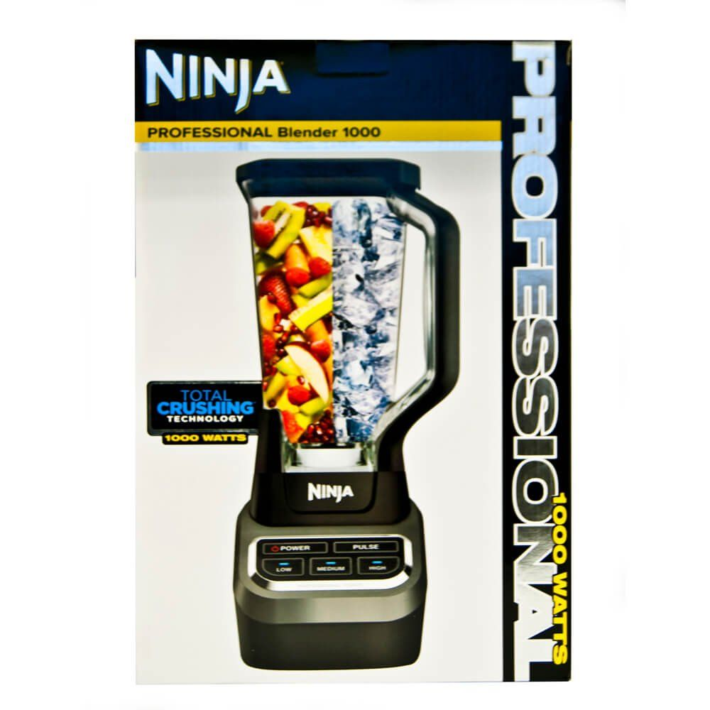 Amazon Com Ninja Professional 72oz Countertop Blender With 1000