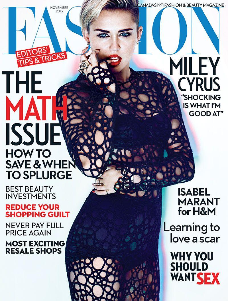 Miley Cyrus for Fashion Magazine
