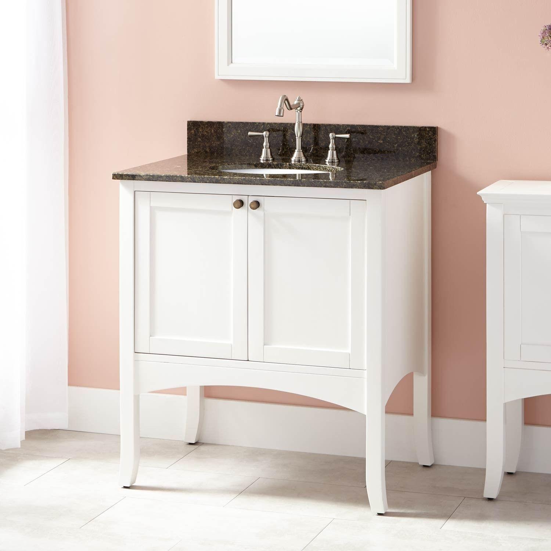 30 Cadmon Vanity For Undermount Sink White Bathroom Vanity