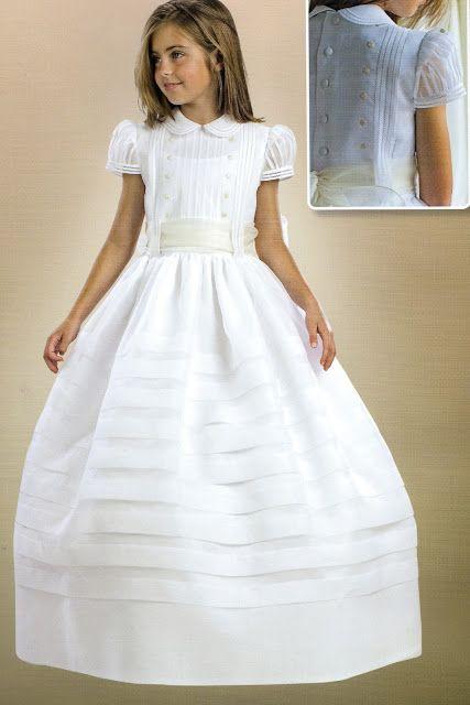vestidos de primera comunion clasicos