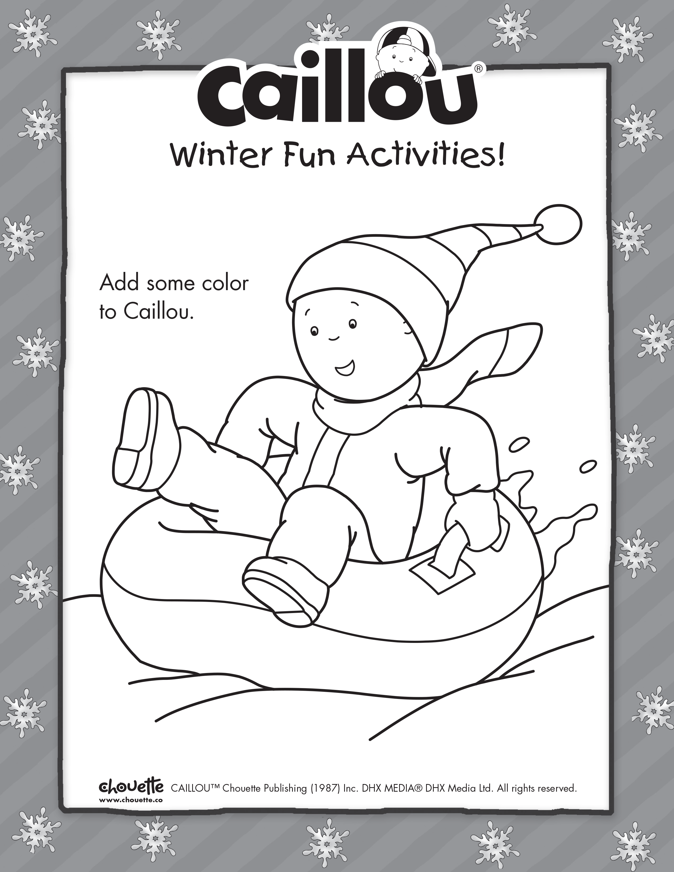 Pin By Caillou On 25 Days Of Caillou