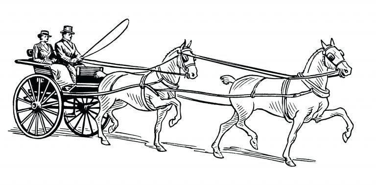Carriage Coloring Pages Huskypaperco Within Horse In A Carriage Coloring Pages Horse Coloring Pages Coloring Pages Horse Coloring