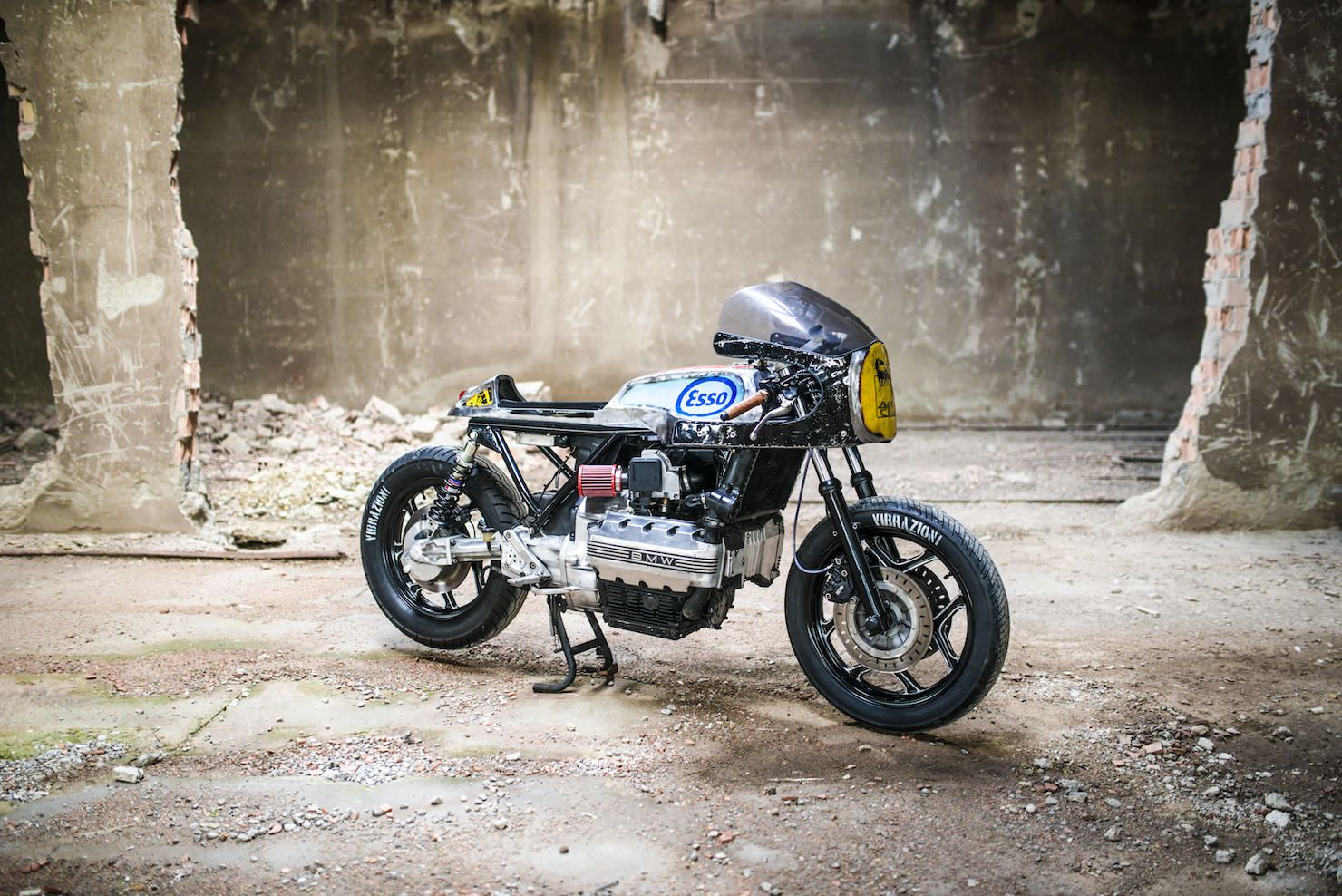 bmw k100 cafe racer | cafes, bmw and motorbikes