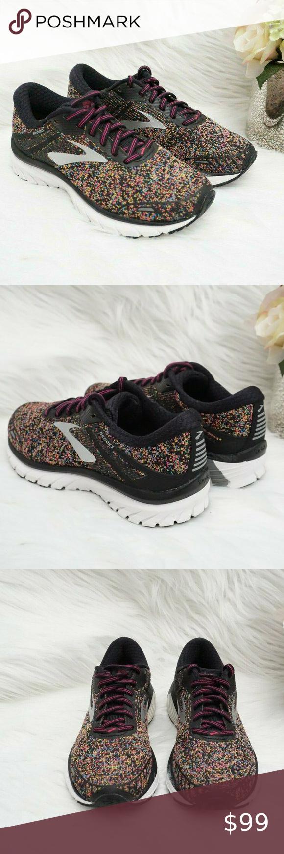 🆕Brooks Running Shoe Pink/ Blue/ Yellow