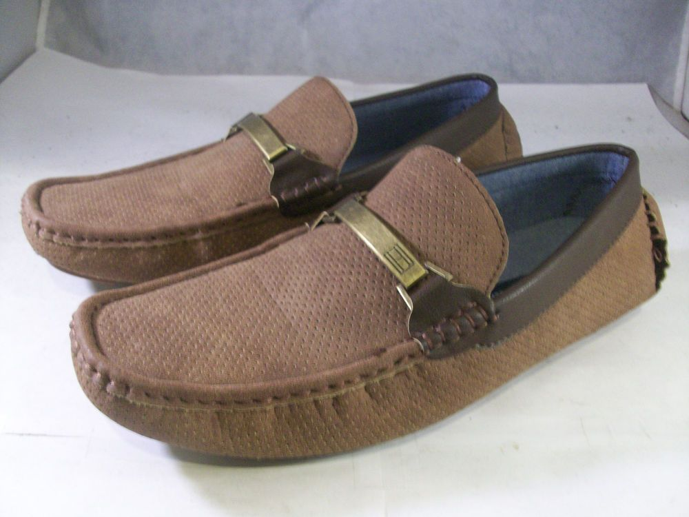 eb3f6b37d055 TOMMY HILFIGER MENS AXTONS DRIVER BIT LOAFERS COGNAC BROWN 8 MEDIUM  70 M   fashion  clothing  shoes  accessories  mensshoes  casualshoes (ebay link)