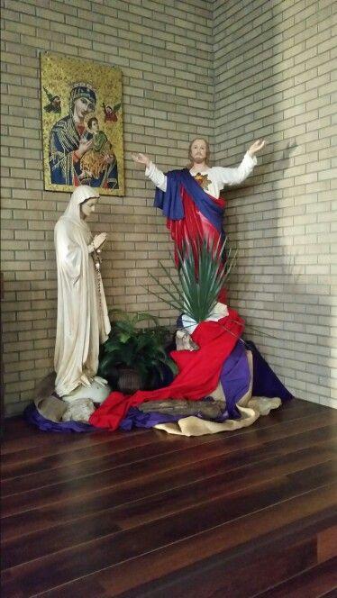 Sacred Heart Church, Glendive, MT Palm Sunday