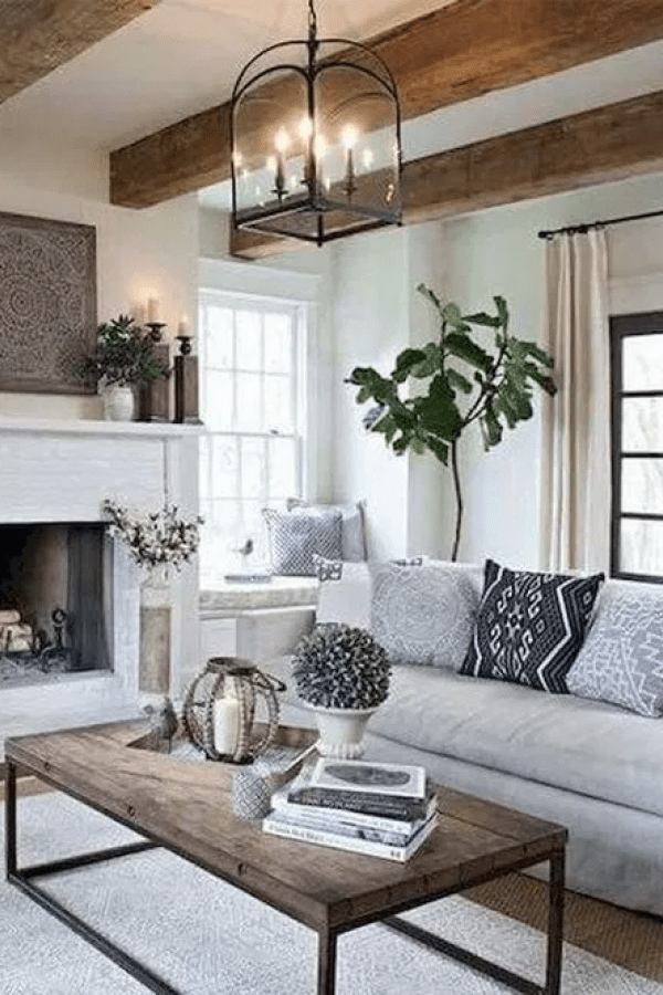 Perfect Farmhouse Living Room Lighting Ideas Decor And Design 22