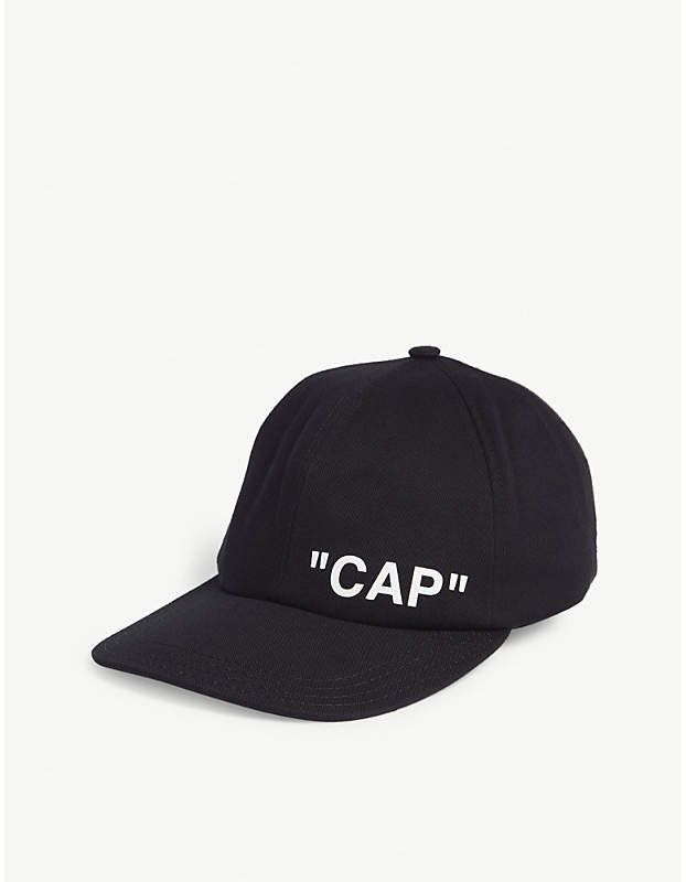 d0efd0c3fa2c65 Off-White Quote cap in 2019 | Products | White baseball cap, Virgil ...