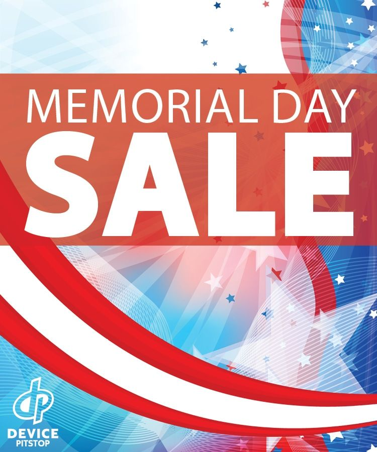 Celebrate Memorial Day Weekend with DP!  10% off all laptops, phones, tablets and game consoles.  Free screen protector with phone repair.