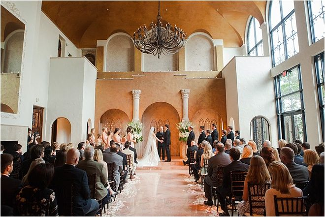 Beautiful Indoor Wedding Ceremony Venue The Bell Tower On 34th Street
