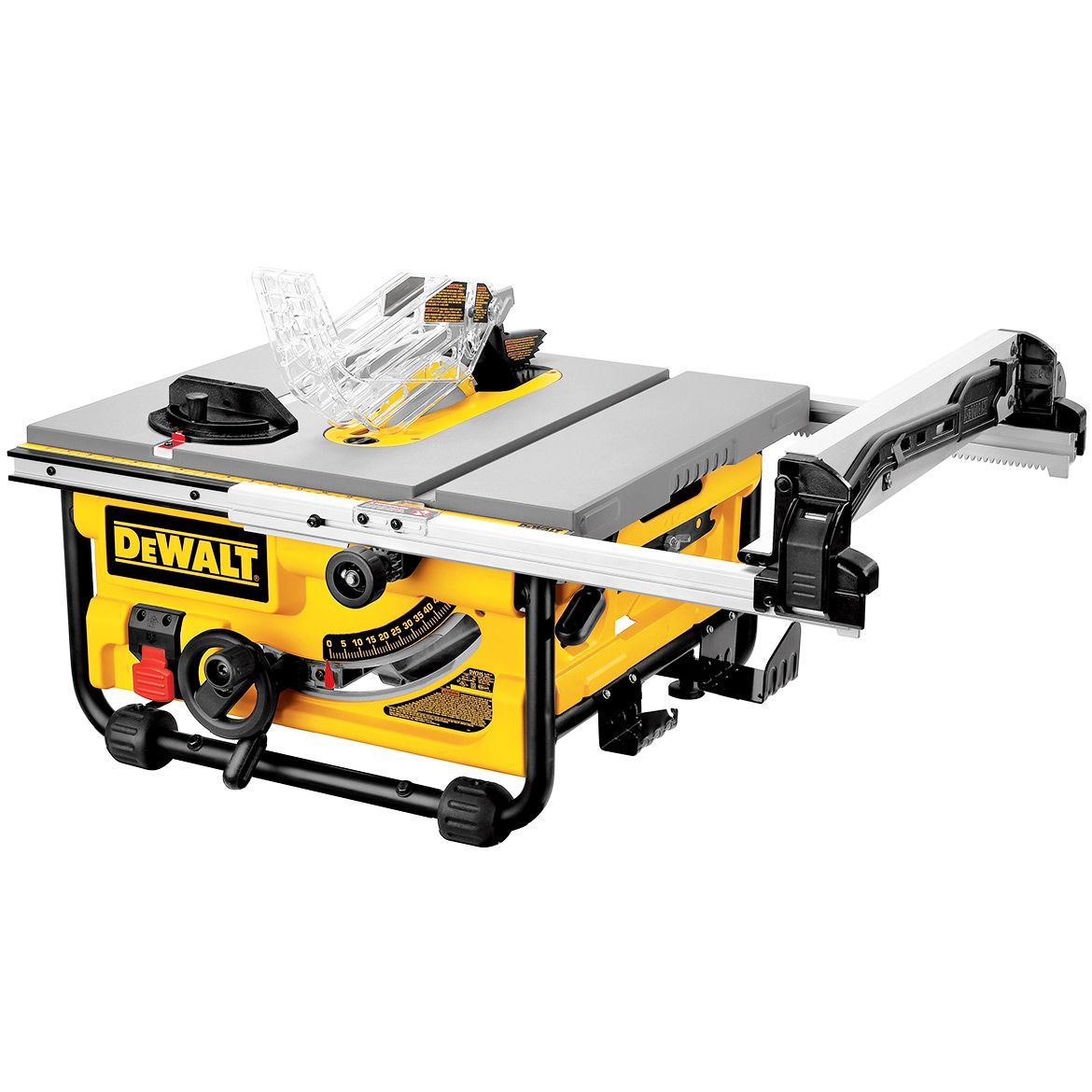 Dewalt Dw745 10 Inch Site Pro Modular Portable Jobsite Table Saw Best Table Saw 10 Inch Table Saw Jobsite Table Saw