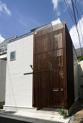 建築家によるおしゃれな狭小住宅の画像集 間取り 子供部屋 3階建