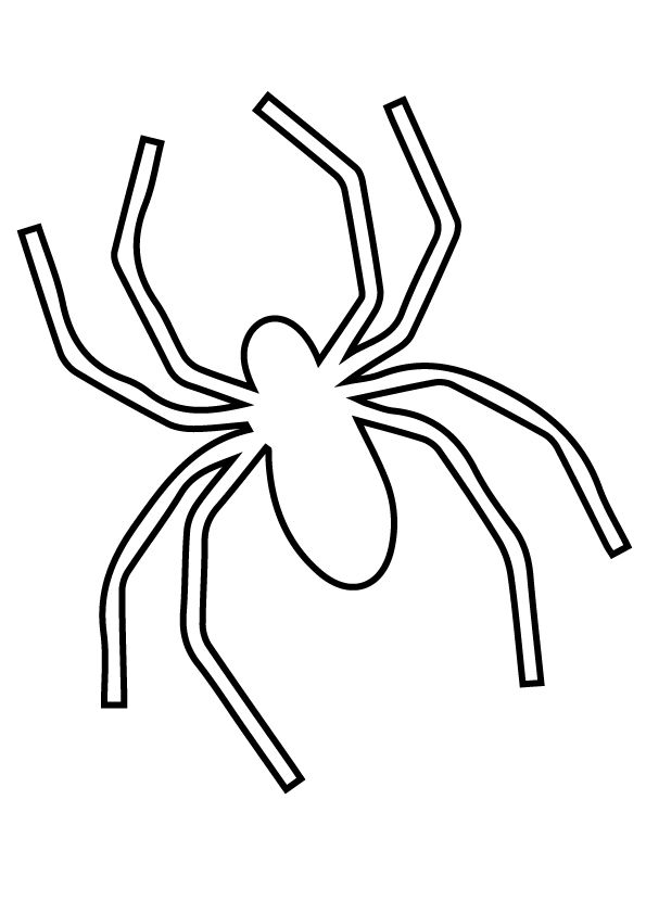 Top 10 Spider Coloring Pages Your Toddler Will Love To Color Spider Coloring Page Coloring Pages Color