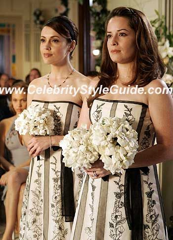 Charmed Wearing Bcbgmaxazria Embroidered Dress Charmed Tv
