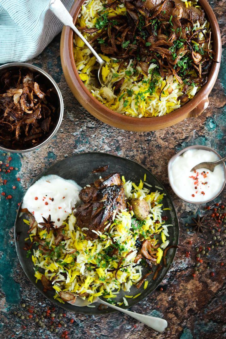 طريقة عمل برياني اللحم من مطبخ آسيا Biryani Traditional Food Indian Food Recipes