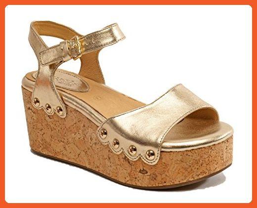177b858be0e Bussola Womens Marcia Gold platform Sandal size 41 M - Sandals for ...
