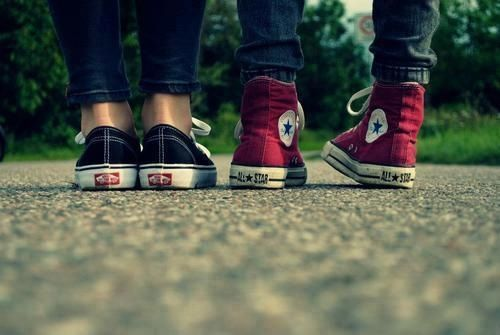 vans #and #converse | Converse, Red converse, Shoes