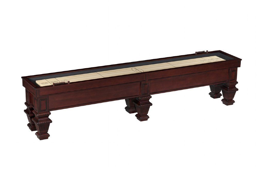 Foot FURNITURE STYLE SHUFFLEBOARD TABLE THE PRESTIGE BERNER - 12 foot shuffleboard table for sale
